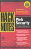 Thumbnail HackNotes Web Security Pocket Reference