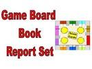 Game Board Book Report Set