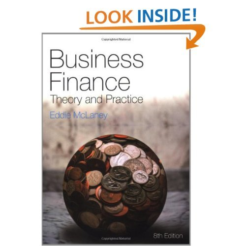 Product picture Business Finance: Theory and Practice 8th edition