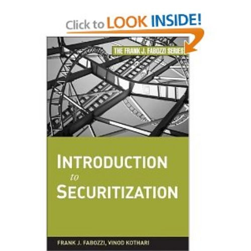 Product picture Introduction to Securitization (Frank J. Fabozzi Series)