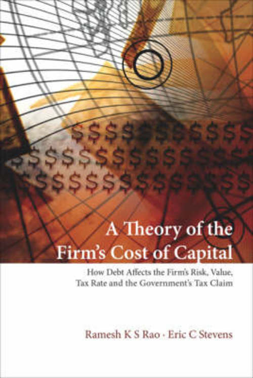 Product picture A Theory of Firms Cost of Capital