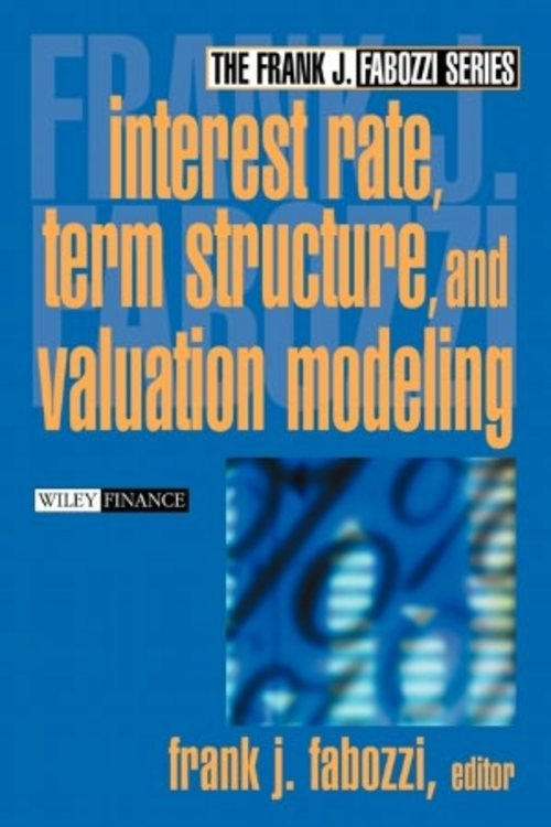 Product picture Interest rate, Term structures and Valuation modelling