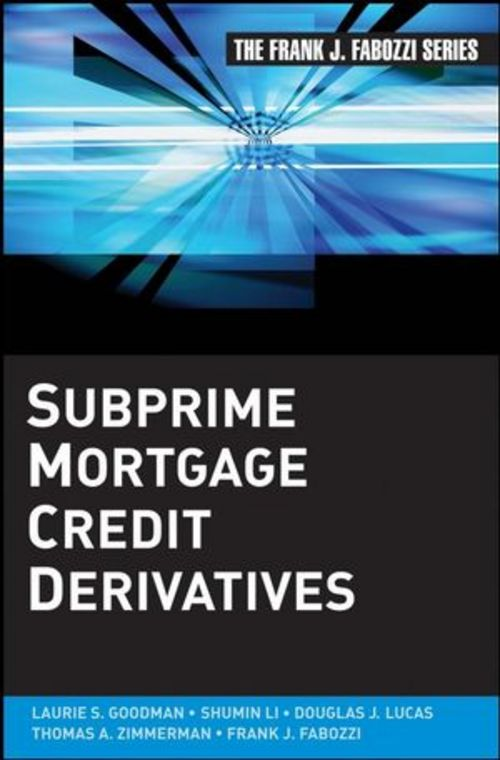 Product picture Subprime Mortgage Credit Derivatives