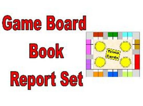 Product picture Game Board Book Report Set