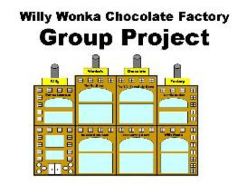 Product picture Willy Wonkas Chocolate Factory Group Project