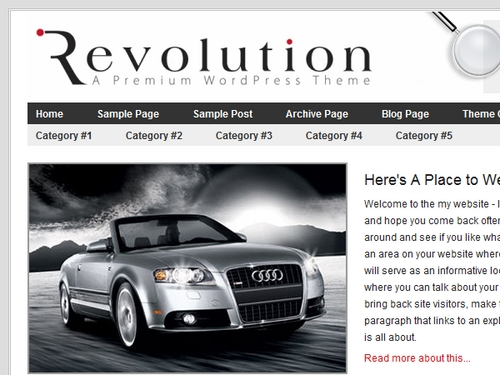 Product picture Revolution Wordpress Themes
