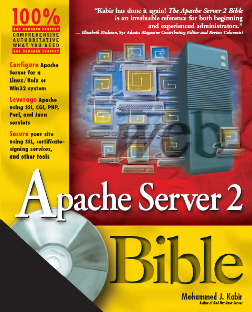 Product picture Apache Server 2 Bible - HUNGRY MINDS