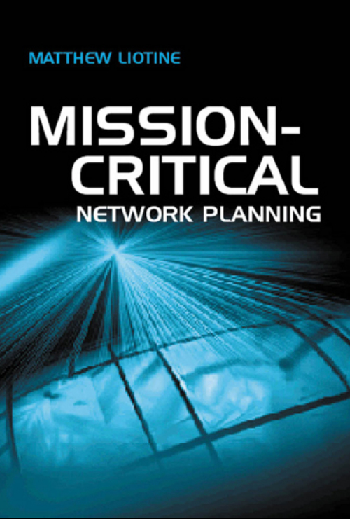 Product picture mission-critical network planning