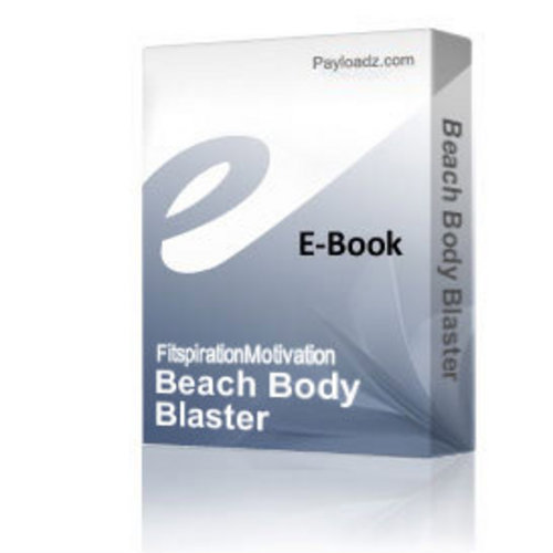 Product picture Beach Body Blaster