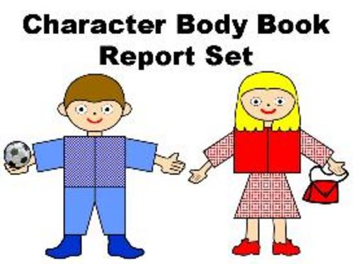 Product picture Character Body Book Report