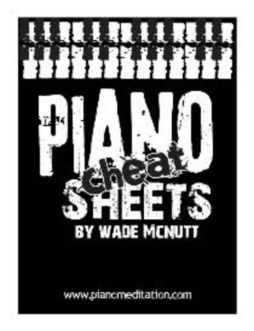 Product picture Piano Cheat Sheets